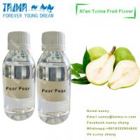 Quality Profession manufacture food grade high concentrate VG based Pear Pear flavour for E-liquid wholesale