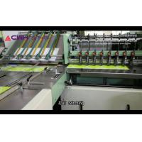China Multi - Function Exercise Book Making Machine / Notebook Production Line on sale