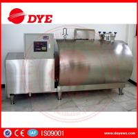 Quality Used Sanitary Stainless Steel Cooling Milk Tank Horizontal Vertical Driect wholesale