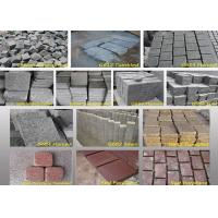 Quality Outdoor Garden Natural Paving Stones Basalt Cobble Stone Raw Material wholesale