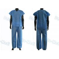 Quality Dustproof Non Toxic Medical Scrub Suit , Breathable Surgical Scrub Suits wholesale