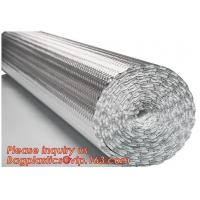 Quality Aluminum Bubble Foil Heat Reflective Insulation Sheets for roof floor an dwall,epe Foam Insulation Material Sheet /Fire wholesale