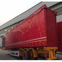 Quality UV Protection Mesh Truck Tarps Flexible For Heavy Duty Truck 300-900gsm Weight wholesale