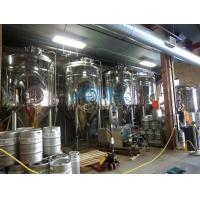 Quality Hotel / Barbecue / Resturant / Ginshop Beer Brewing System 500 Liter Brewery Equipment Complete Brewing System wholesale