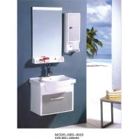 Quality PVC bathroom vanity / wall cabinet / hanging cabinet / white color for bathroom 60 X49/cm wholesale