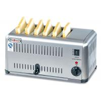 Quality Commercial 6 / 4 Slice Electric Toaster Snack Bar Equipment / Toast Bread Machine wholesale