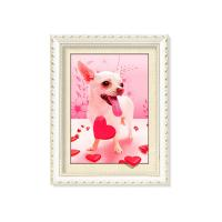 Quality Colorful Amazing Animal 5D Pictures 12x17 Inches  0.6mm PET Material wholesale