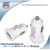 Quality Single Port 18w Car Usb Adapter , Lightweight Portable Usb Charger For Car wholesale