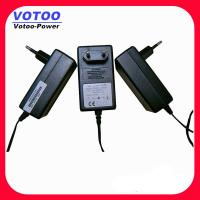 Quality EU Plug 12V 24W 36W CCTV Power Adapter With 5.5mm 2.5mm DC Connector wholesale