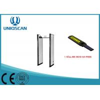 Quality Safty Door Frame Metal Detector 6 Zones / Multiple Zones For Exhibition Center wholesale