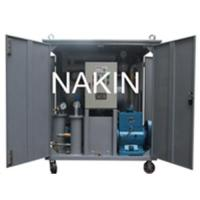Quality NAKIN Series ZY Single stage vacuum insulating oil purifier,oil purification,oil recycling wholesale