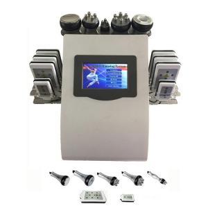 China Portable 6 In 1 Cavi - lipo Ultrasound Cavitation Machine 40K Cavitation RF Multipolar Tripolar Vacuum Laser on sale