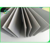 Quality Recycled Mixed Grey Cardboard , 2.5mm Book Cover Grey Board Folding Resistance wholesale
