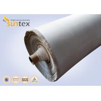 China 1200C Ceramics Fiber Cloth With Stainless Steel Wire Heat Insulation Materials on sale
