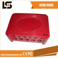 China Red Color Medical Device Accessories from China Aluminum Die Casting Manufacturer on sale