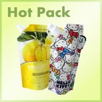 Quality Reusable Gravure Printing Surface Baby Food Stand Up Spout Pouch Bag wholesale