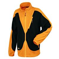 Buy cheap Men's Orange/Black Casual Fleece Jacket from wholesalers