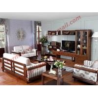 Cheap High Quality 1+2+3 Wooden Sofa Set from Shenzhen Right Home Furniture in for sale
