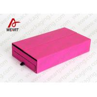 Buy cheap Colored Cosmetic Paper Box Fabric Cardboard Cosmetic Packaging Customized Size product