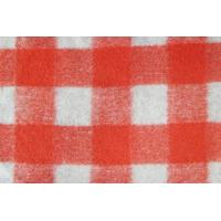 Quality Polyester Acrylic Wool Blended Fabric , Yarn Dyed Wool Tartan Curtain Fabric wholesale