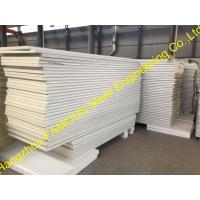 Quality Metal Roofing Insulated Sandwich Panels Fireproof , 100mm -150mm Foam wholesale