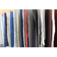 Quality Colored Dyed Linen and Organic Cotton Washed Fabric for Polo T Shirt Clothing wholesale