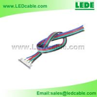 China LED Strip Ribbon Wire , LED Strip RGB cable on sale
