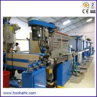 Quality ISO 90 Mm  Power Cable Extruder Machine With Capacity 250kg/hr  380V 50Hz wholesale