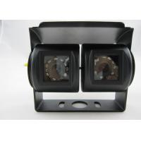 LED IR Night Vision Bus Backup Camera with Dual Lens , Reversing Cameras For Trucks