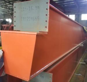 Quality 16.9m European Type Main Girder 10T Overhead Bridge Cranes wholesale