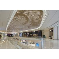 China Perforated Acoustic Artistic Aluminum Ceiling Panels With PVDF / PET Coating on sale
