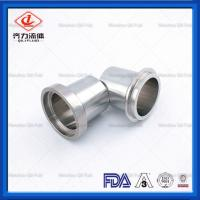 Quality 3A  Hygienic Tri Clamp Flange Adapter Beverage Pharmaceutical Industry Use wholesale