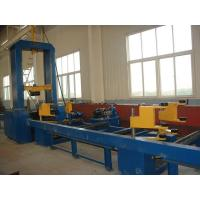 China H Beam Assembly Machine Hydraulic Synchronize Clamp Flange Web Plate Combined on sale