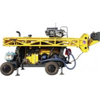 Quality HWL Drilling Depth 1000m  Wheel Trailer Hydraulic Core Drilling Machine wholesale