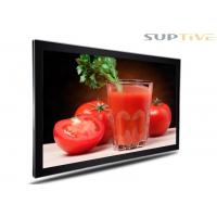 Full Color Wall Mounted Advertising Display , In Store Digital Signage