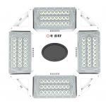 Quality Ufo Round High Power Dimming High Bay Led Lights 100w 150w 200w 240w With Sensor wholesale