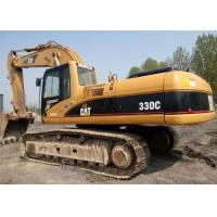 China 1.5 Tonne Second Hand Excavators , Caterpillar 330C Crawler Hydraulic Excavator on sale
