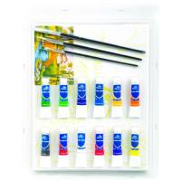 Quality Rectangular Drawing Art Sets , Fashion Art Studio Paint Set For Adults wholesale