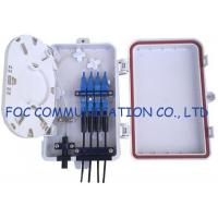 Buy cheap FTTH Fiber Optic Terminal Box 4Ports from wholesalers