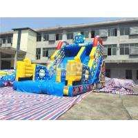 China Children Small Robot Inflatable Dry Slide For Amusement Park / Rental Business on sale