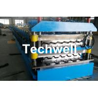 Quality Chain Transmission Double Layer Roll Forming Machines For Corrugated Sheets wholesale