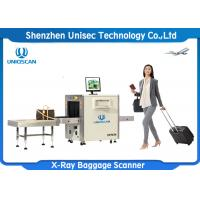 Quality Dual Energy Multiple Size X-ray Airport Baggage Scanner For Bank wholesale