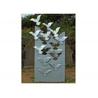 Quality Flying Large Metal Lawn Sculptures Animal Statue Wall Decoration Modern wholesale