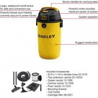 China Portable Stainless Steel Stanley Wet Dry Vacuum Cleaner Light Weight Compact Design on sale