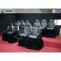 Quality Motion Chair For 5D Movie Theater With Fiberglass And Genuine Leather Material wholesale