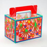 Cheap PVC gift packaging boxes clear favor box for sale