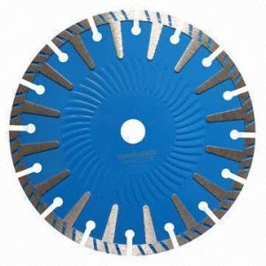 China Diamond hot press saw blade/230mm sintered T-shape segmented saw blade on sale