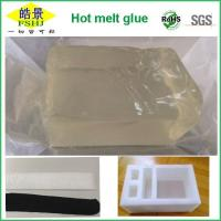 Quality Pure Clear Hot Melt Adhesive Block Strong Initial Stickiness Hot Melt Pressure Sensitive Adhesive For EPE Foam wholesale
