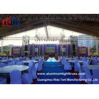 China Indoor Wedding Speaker Aluminium Truss Frame Sqaure Shape Two Years Warranty on sale