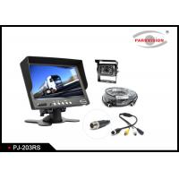 Quality 600 TVL CCD Truck Rear View Camera W / 2 Way Input With 7 Inch Monitor wholesale